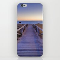The path..., the beach.... iPhone & iPod Skin