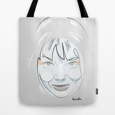Portrait: Bjork Tote Bag