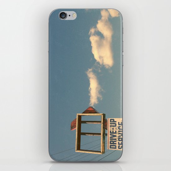 Drive Up iPhone & iPod Skin