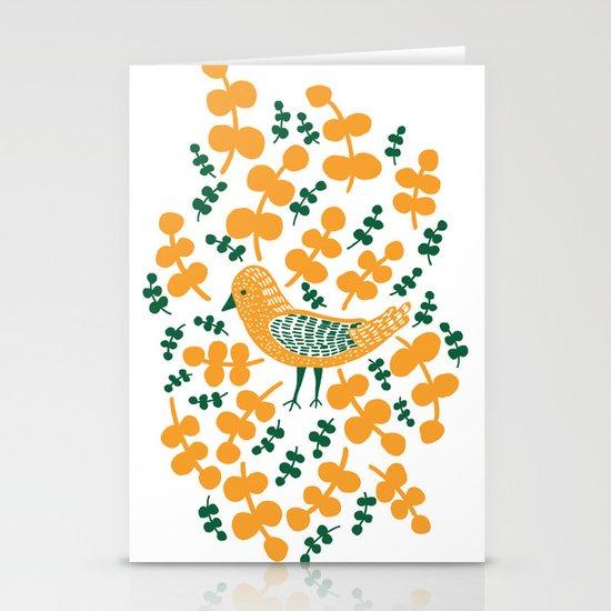 Birdie Bird Stationery Card
