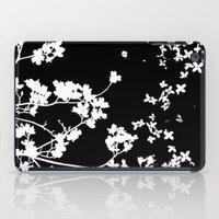 Black Dogwood iPad Case