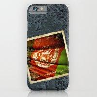 Grunge sticker of Afghanistan flag iPhone 6 Slim Case