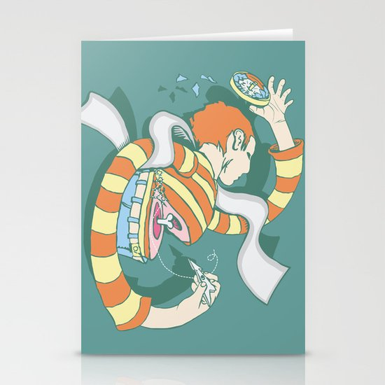 Put Yourself Back Together Again Stationery Card