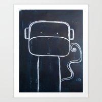 No. 0015 - The Monkey  Art Print
