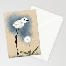 Snowy Stilted Plover Stationery Cards
