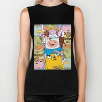 Adventure Time Biker Tank