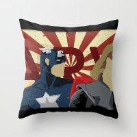 The Avengers Forgot Spid… Throw Pillow