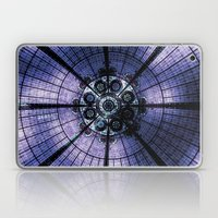 Purple Stained Glass Laptop & iPad Skin