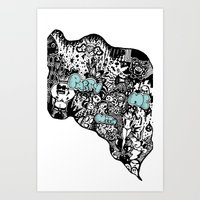 Party With Me Art Print