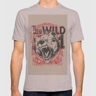 The Wild Mens Fitted Tee Cinder SMALL