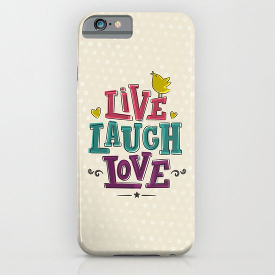 live laugh love iPhone & iPod Case