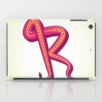 Curly R iPad Case