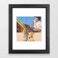 venturE// Framed Art Print