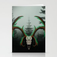 C-1 Horns Stationery Cards
