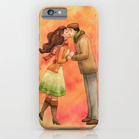 Cold Weather Kiss iPhone 6 Slim Case