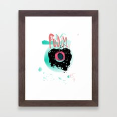 playlist jan Framed Art Print
