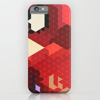 iPhone Cases featuring Geometric Spider-Man by Head Glitch