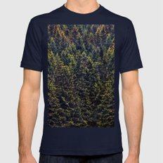 The Landscape Is Changin… Mens Fitted Tee Navy SMALL