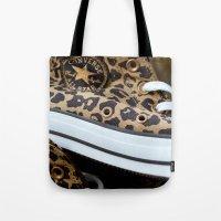 Converse Leopard All Sta… Tote Bag