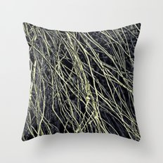 Rooted Confines Throw Pillow