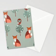 Fox Woods Stationery Cards