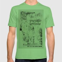PSEUDOARTISTA Mens Fitted Tee Grass SMALL
