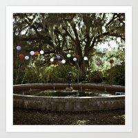 Garden Wonder Art Print