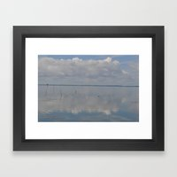 Picture Perfect Blue Sky… Framed Art Print