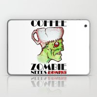 Coffee Zombie Laptop & iPad Skin