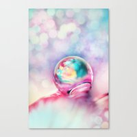 A Drop Of Fun Canvas Print