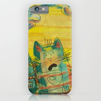 iPhone & iPod Case featuring Singing Cats by Moonlighting