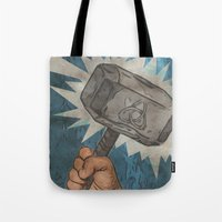 By the Hammer of Thor Tote Bag