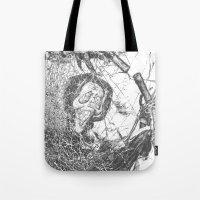 Ghostly  Tote Bag