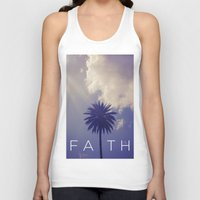 Palm Tree Faith Unisex Tank Top