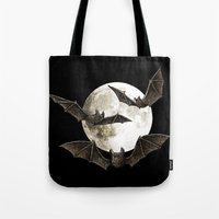 Creatures Of The Night Tote Bag