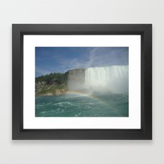 Rainbows of Niagara Falls Framed Art Print