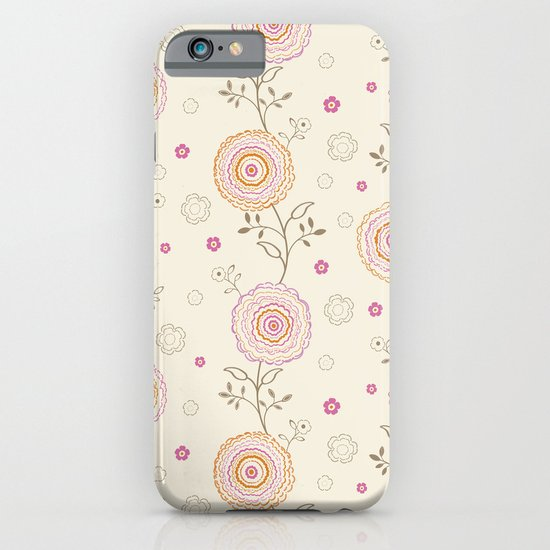 Folky Flowers iPhone & iPod Case