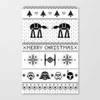 May the Christmas Spirit be with you. Canvas Print