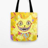 Cheshire Cat Tote Bag
