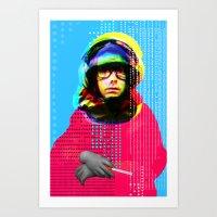 Gioconda Music Project �… Art Print