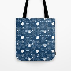 Wibbly wobbly... stuff Tote Bag