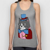 Dignified Cat Unisex Tank Top