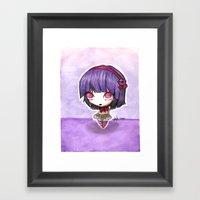 Grape Berry Framed Art Print