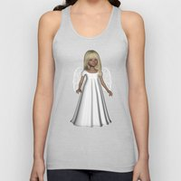 Little Winter Angel Unisex Tank Top