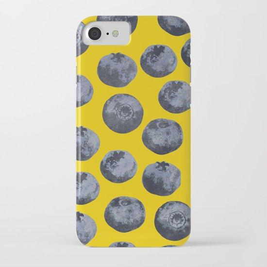 Beach Blanket Blueberry: Blueberry Pattern IPhone & IPod Case By Georgiana