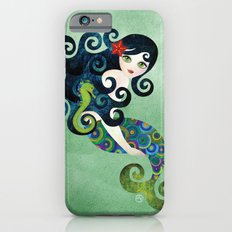 Aquamarine Mermaid iPhone 6 Slim Case