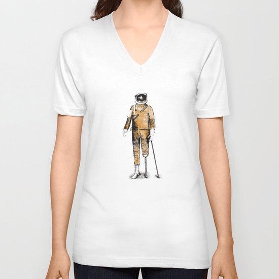 Astropirate (Watercolors) V-neck T-shirt