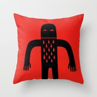Cut Throw Pillow