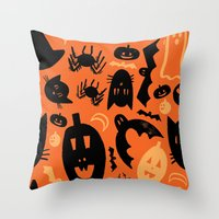 Halloween 2013 Throw Pillow