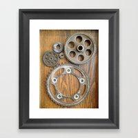 Wheels 2 Framed Art Print